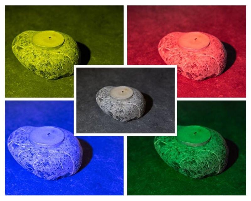 Lumecube studio colour gelatins test