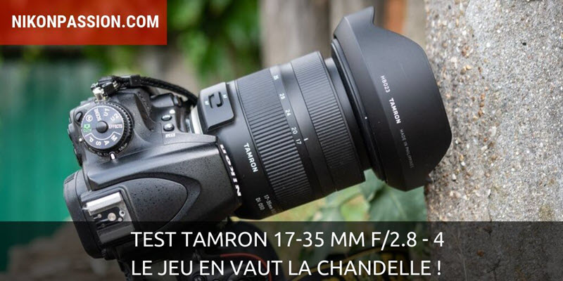 Tamron test 17-35 mm f/2.8-4 Di OSD: it's worth it!