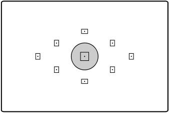 schematic spot measurement mode