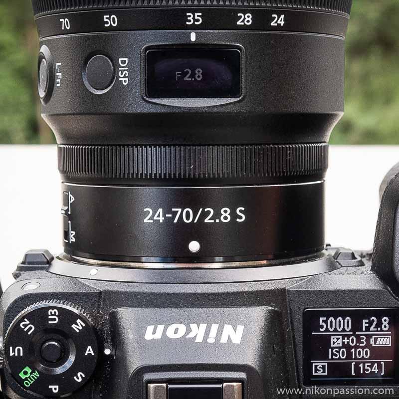 Nikkor Z test 24-70 mm f/2.8 S