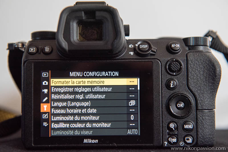 How to set up a Nikon hybrid: setup menu