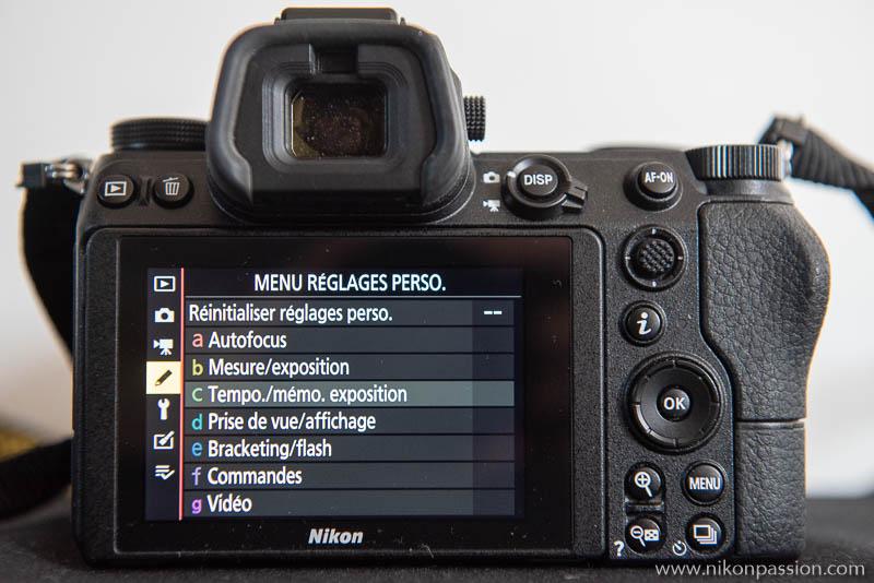 How to set up a Nikon Hybrid: Custom Settings menu