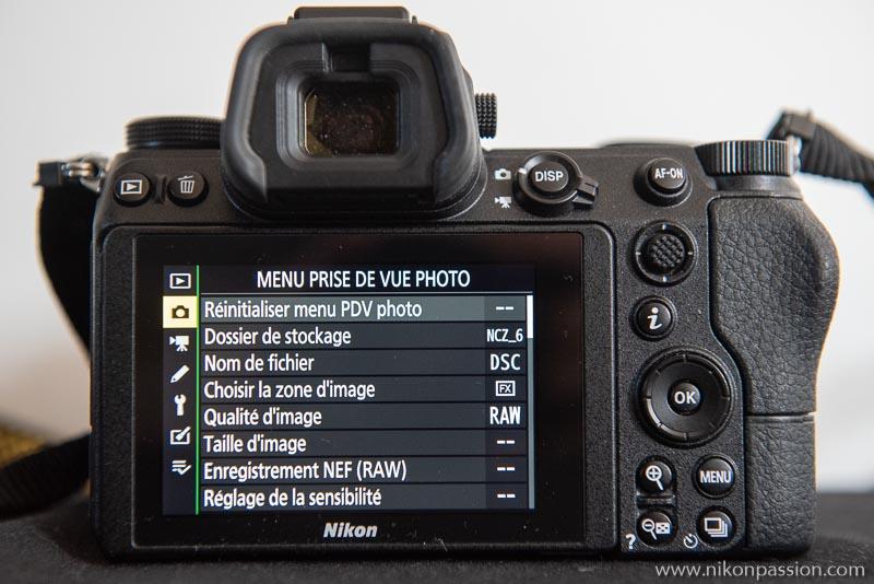 How to set up a Nikon Hybrid: Photo Shooting menu
