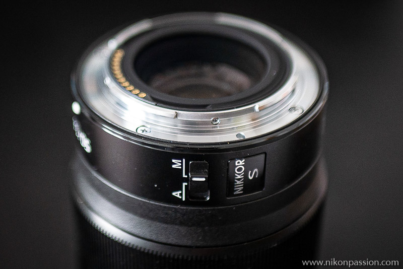Nikon Test Z 50 mm f/1.8 S
