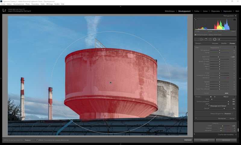 From shooting to publication, an example of workflow in Lightroom