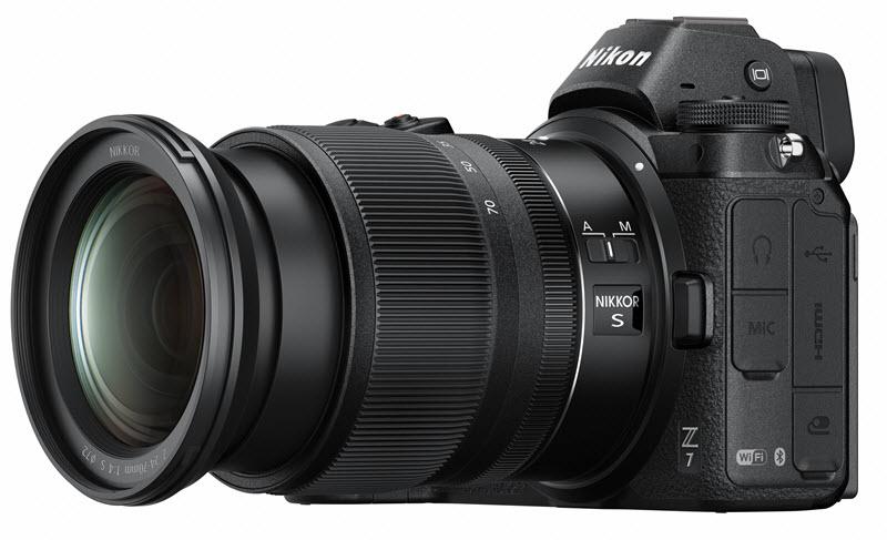 Nikon Z 24-70mm f/4 S zoom lens for Nikon Hybrid