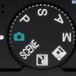 PASM creative modes camera wheel