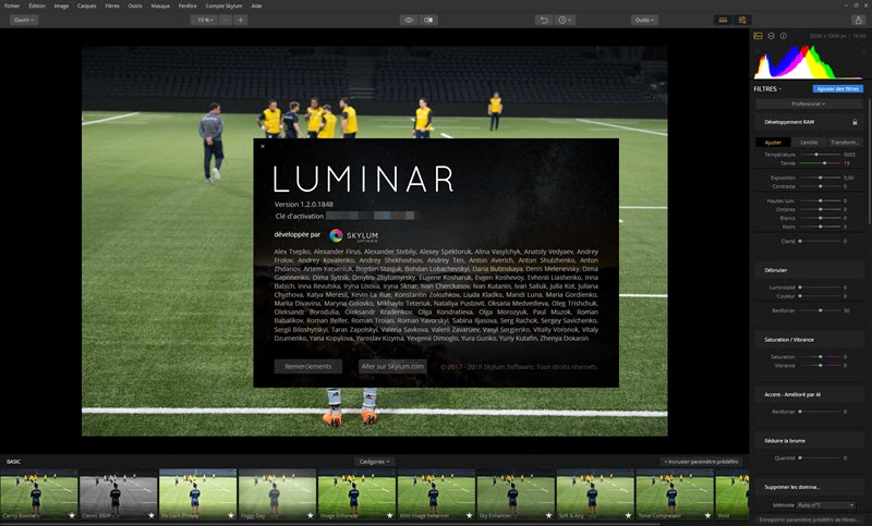 Luminar 2018 Update 1.2 Jupiter: Faster and better performance on Mac and Windows
