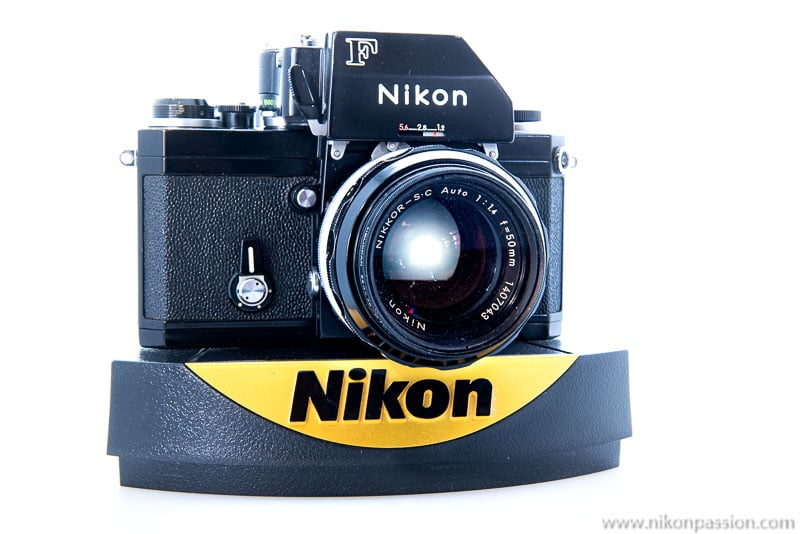 Taking pictures at home: the Nikon F