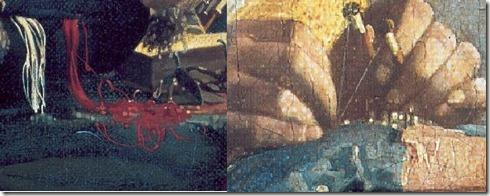 dentelière de Vermeer hand look spiral zoom