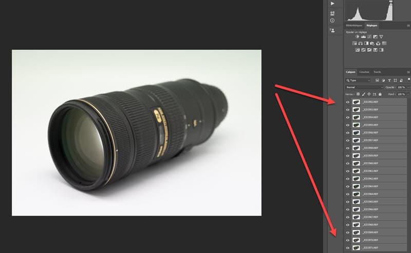 focus Stacking Photoshop