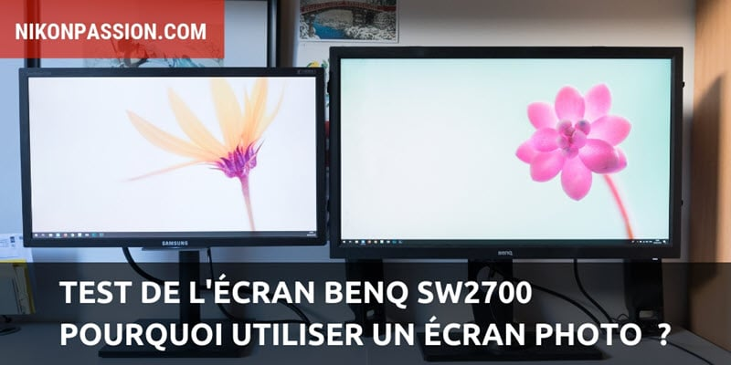 Test the BenQ SW2700PT screen and why use a photo display?