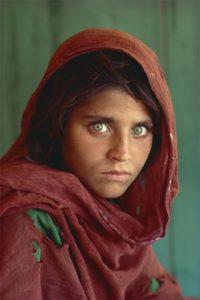 The Afghan girl
