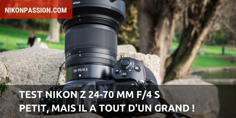 Nikon Z Test 24-70 mm f/4 S