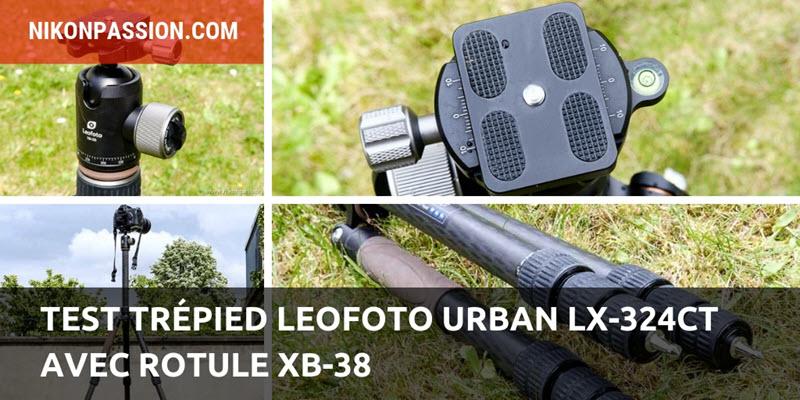 Leofoto Urban LX-324CT tripod test with XB-38 head