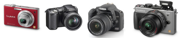 Compact, bridge, DSLR and hybrid: what are the differences in camera types?