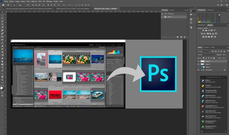 Photoshop Lightroom Classic integration