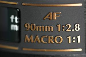 Tamron 90mm f2.8 Di Macro lenses