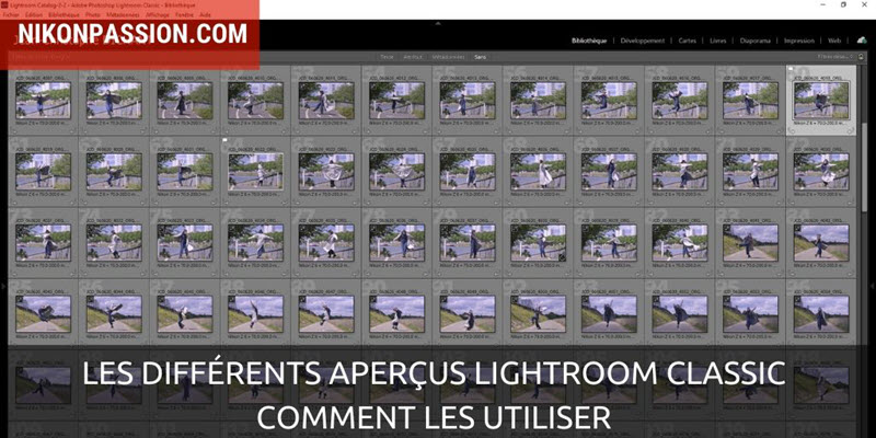 The different Lightroom Classic overviews and how to speed up Lightroom