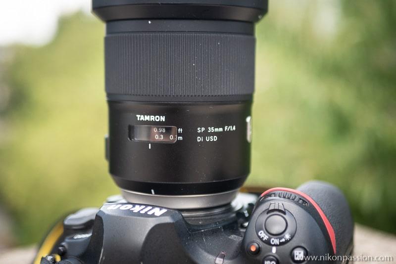 Test Tamron SP 35 mm f/1.4 Di USD