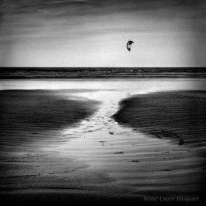 Black and white photo range