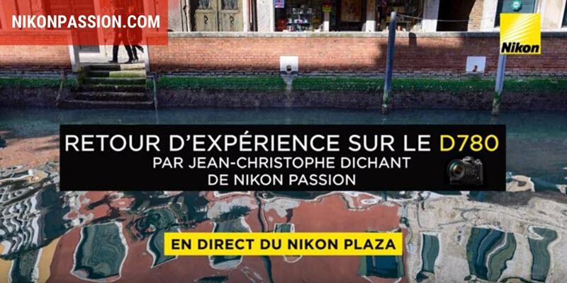 Nikon D780: feedback, video and photo conferencing