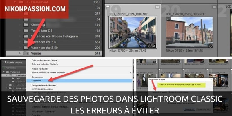 Saving photos in Lightroom Classic, common mistakes to avoid