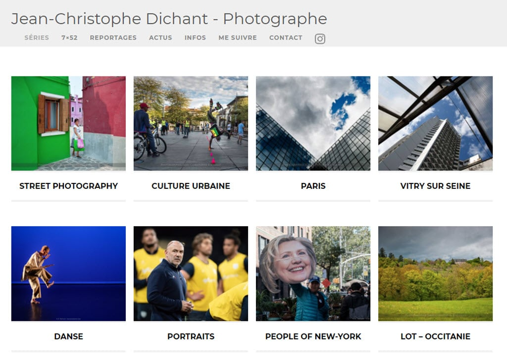 Photo site Jean-Christophe Dichant