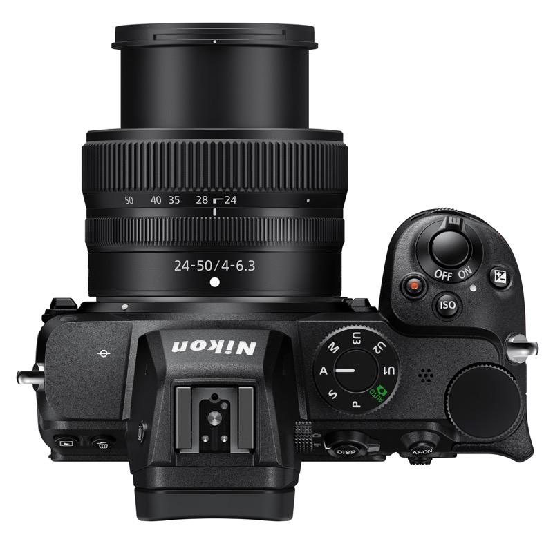 Nikon Z 5: above