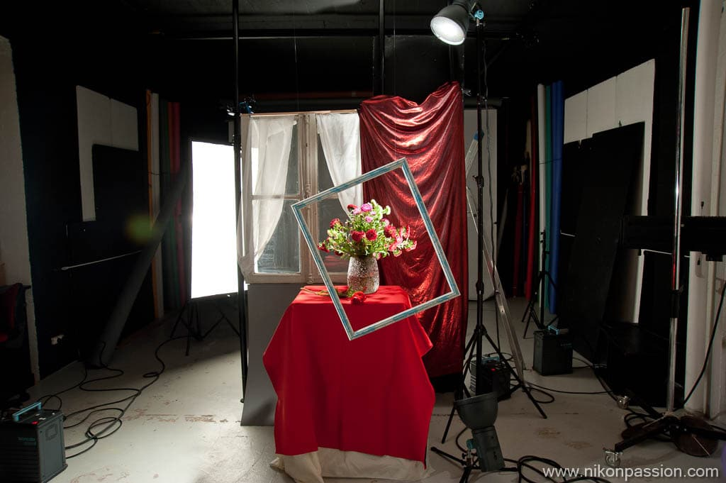 How to make still life in the studio